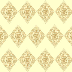 MAYAN CREAM CHEVRON