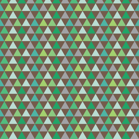 Triangles_Galore_wood fabric by stacyiesthsu on Spoonflower - custom fabric