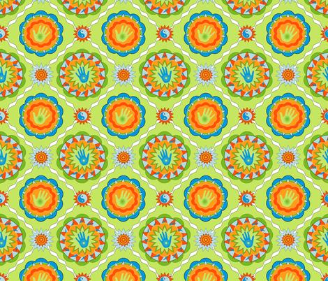 Happy Hands Club fabric by keweenawchris on Spoonflower - custom fabric