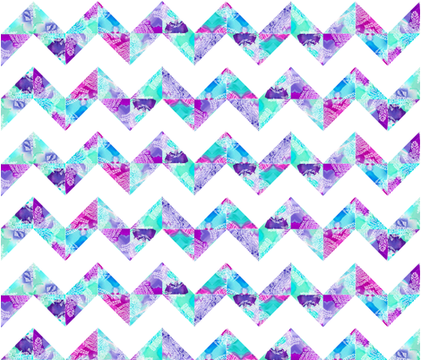chevron fabric by elyce on Spoonflower - custom fabric