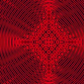 Red and black Celtic diffraction