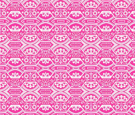 Clockwork Tritts fabric by siya on Spoonflower - custom fabric