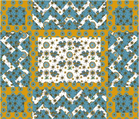 Madhubani  fabric by vedanta on Spoonflower - custom fabric