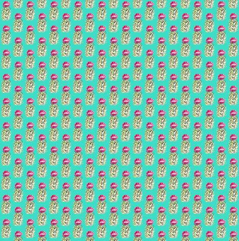 tealcactus3 fabric by sára_emami on Spoonflower - custom fabric