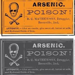 Hallow Fields poison labels