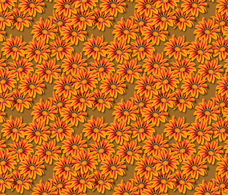 Fireblossoms fabric by jjtrends on Spoonflower - custom fabric