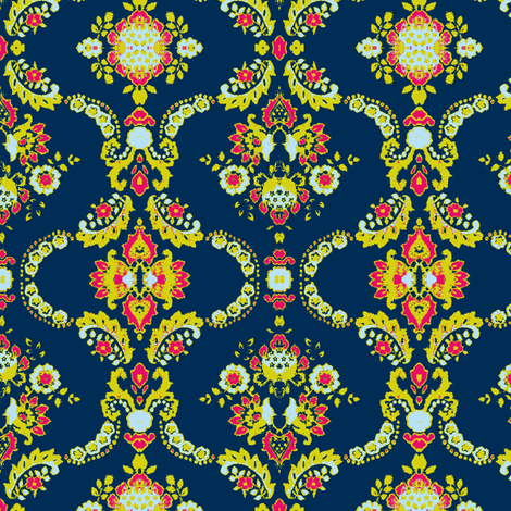 70's house fabric by eat_my_sweet_dust on Spoonflower - custom fabric