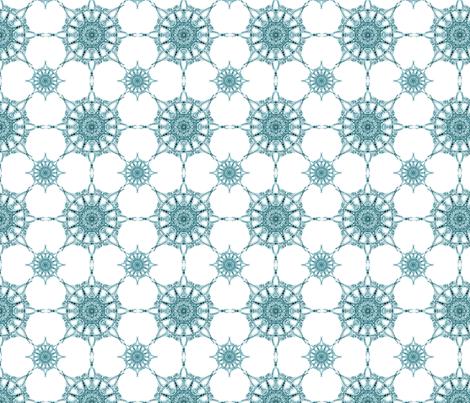 Marrakech Snowflakes fabric by autumn_street on Spoonflower - custom fabric