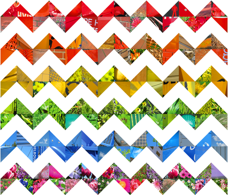 photo_rainbow_chevrons fabric by karenmayo on Spoonflower - custom fabric