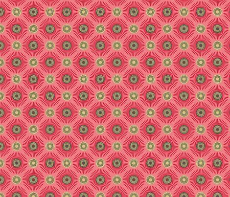 hakea pink fabric by cjldesigns on Spoonflower - custom fabric