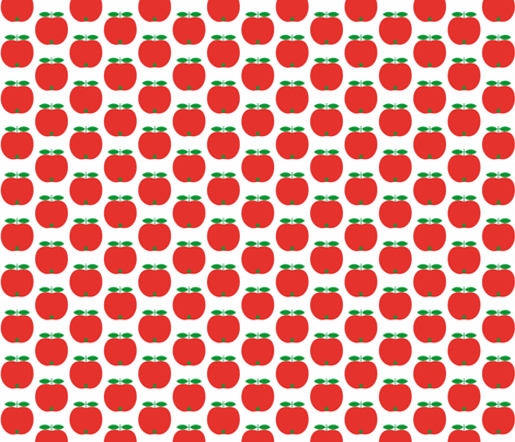 apples fabric by ils_e on Spoonflower - custom fabric