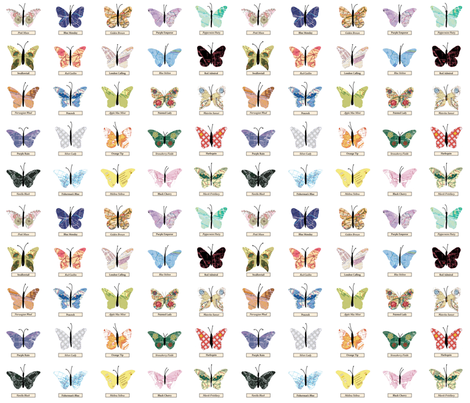 small_butterfly fabric by peppermintpatty on Spoonflower - custom fabric