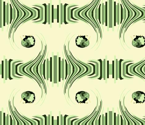 New Zealand Wave  fabric by featheralchemist on Spoonflower - custom fabric
