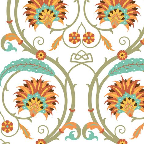 Serpentine 852a fabric by muhlenkott on Spoonflower - custom fabric