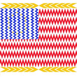 Chevron Stars and Stripes
