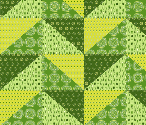 twisted zigzag fabric by cherished_dreams on Spoonflower - custom fabric