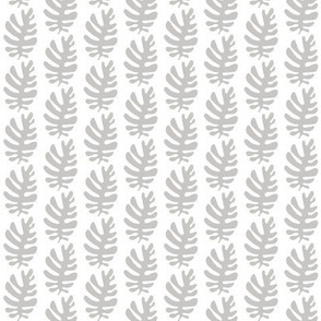 Funky Leaf (dove grey)