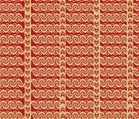 Zig Zag Swirls fabric by createdgift on Spoonflower - custom fabric