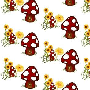 A happy gnome flora