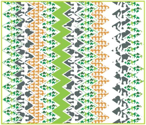 Zig_Zag_Zoo fabric by annalisa222 on Spoonflower - custom fabric