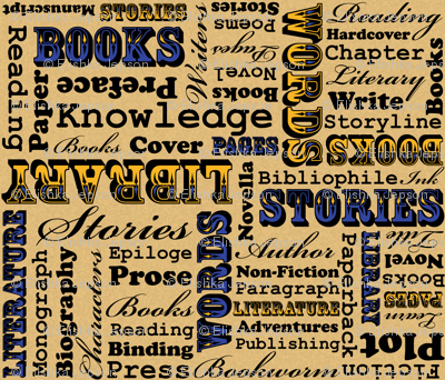 A Book Lover's Medley (Blue)
