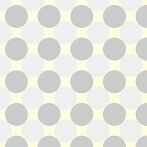 circles grey yellow