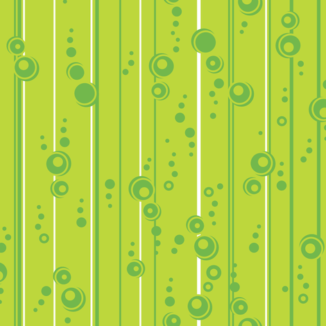Mod Stripe (Light Green) fabric by robyriker on Spoonflower - custom fabric