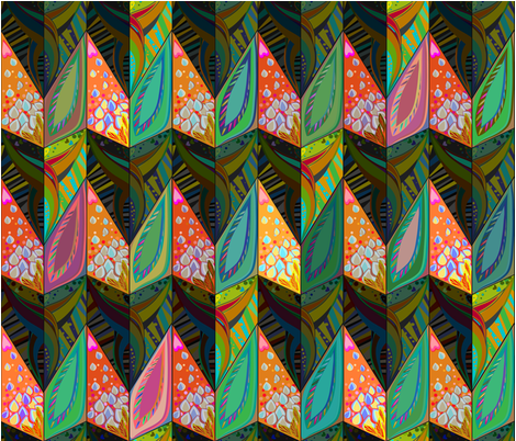 Bird_of_paradise fabric by gavannapatterns on Spoonflower - custom fabric