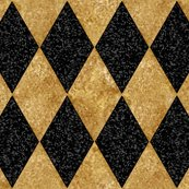 Rharlequin_diamonds___black_and_antique_gold_mosaic_ii___peacoquette_designs___copyright_2016_shop_thumb