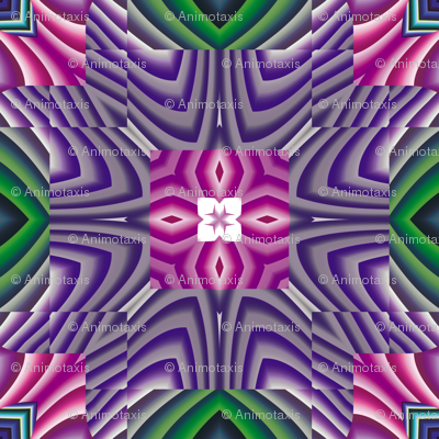 Flowery Incan Tiles 1