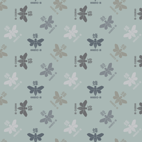 chemical moths fabric by susiprint on Spoonflower - custom fabric