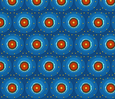 Gaia Dots fabric by mammajamma on Spoonflower - custom fabric