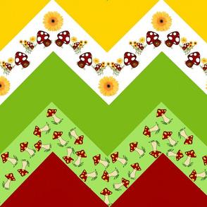A happy gnome / zigzag