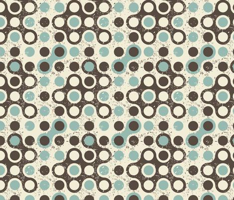 abstract retro seamless pattern fabric by anastasiia-ku on Spoonflower - custom fabric