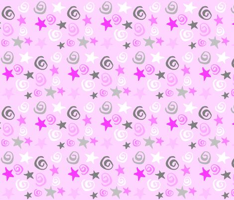 ZIGGY STAR DREAM fabric by bluevelvet on Spoonflower - custom fabric