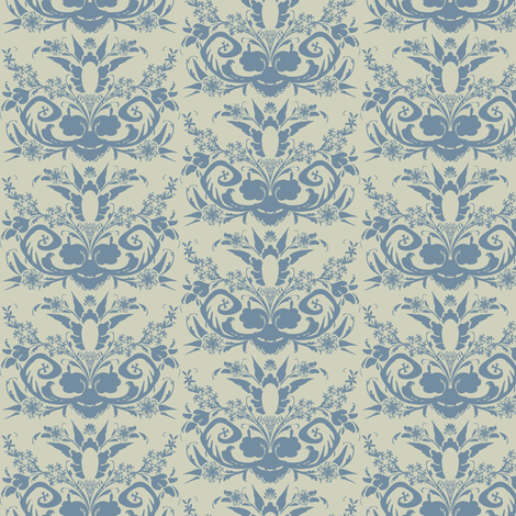 folque metal fabric by susiprint on Spoonflower - custom fabric