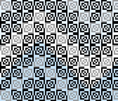 large scale graphic zigzag chevron