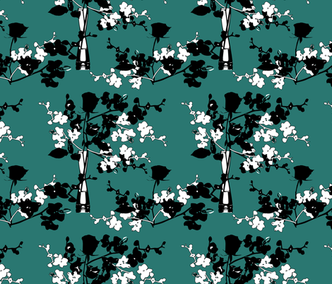 orchid fabric by kociara on Spoonflower - custom fabric