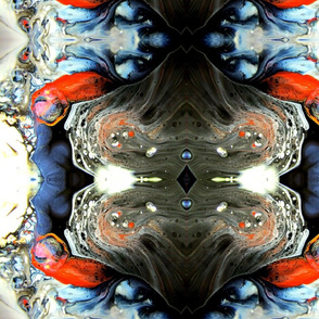 DRE DESIGNS CHROMATIC ABSTRACT 180