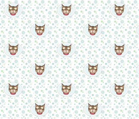 Bobbit_appliques_01 fabric by woodmouse&bobbit on Spoonflower - custom fabric