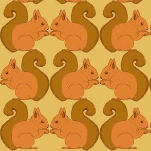 Autumn Delights - Squirrels - biscuit