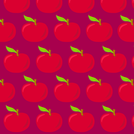 Autumn Delights - Apples - Juicy Fruits fabric by uzumakijo on Spoonflower - custom fabric