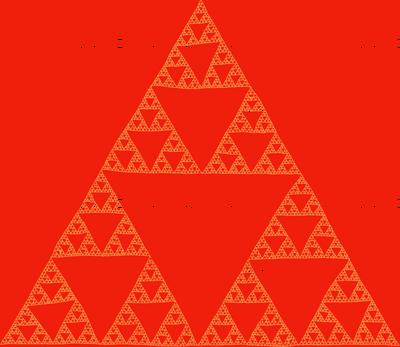 Sierpinski Triangle - tamale