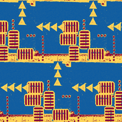 I just want to point out fabric by nalo_hopkinson on Spoonflower - custom fabric