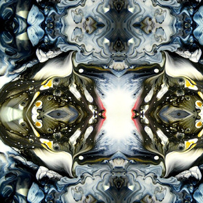 DRE DESIGNS CHROMATIC ABSTRACT 182