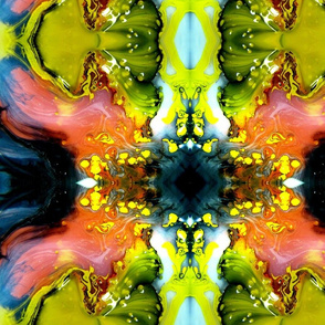 DRE DESIGNS CHROMATIC ABSTRACT 183
