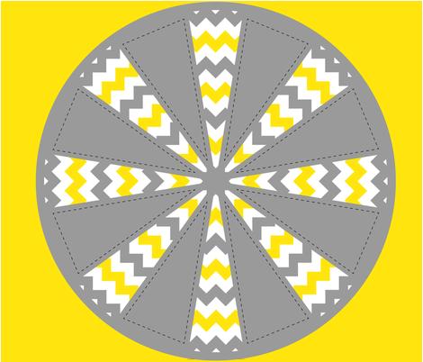 Chevron fabric by jasmilly on Spoonflower - custom fabric