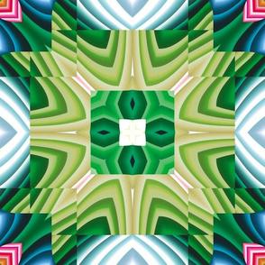 Flowery Incan Tiles 6