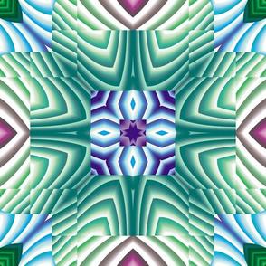 Flowery Incan Tiles 11
