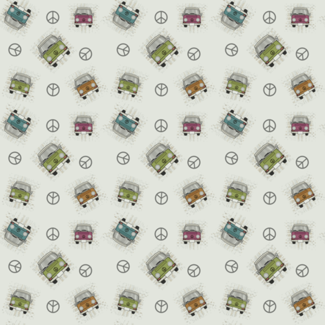 groovy-w tiny fabric by kclud39 on Spoonflower - custom fabric